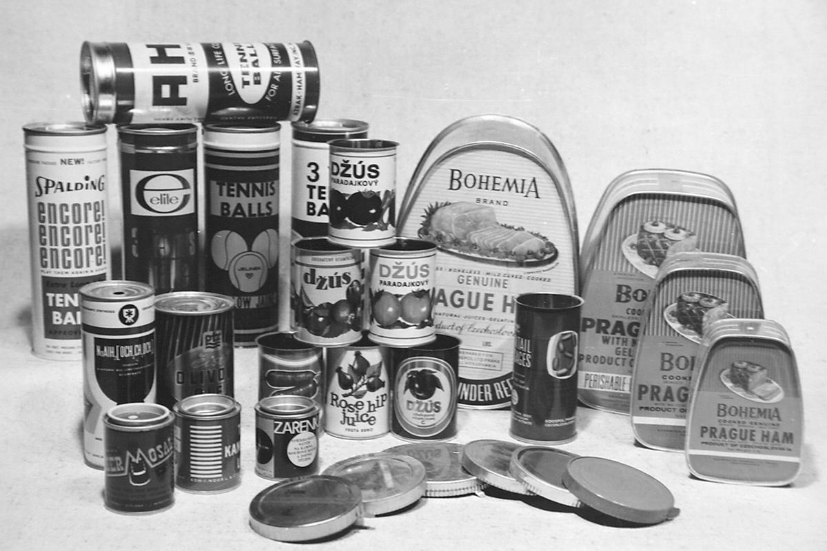 Výroba plechovek a konzerv různých typů i tvarů